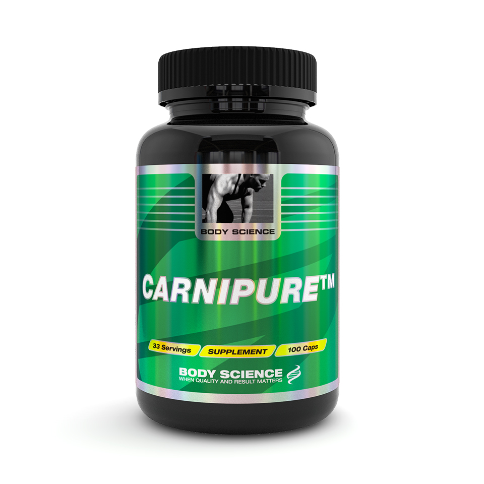 Body Science CarniPure, 100 kapslar – Fettförbränning - Body Science