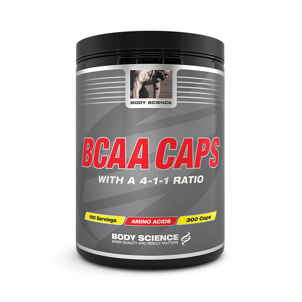 Body Science BCAA Caps 300 kapslar - Body Science