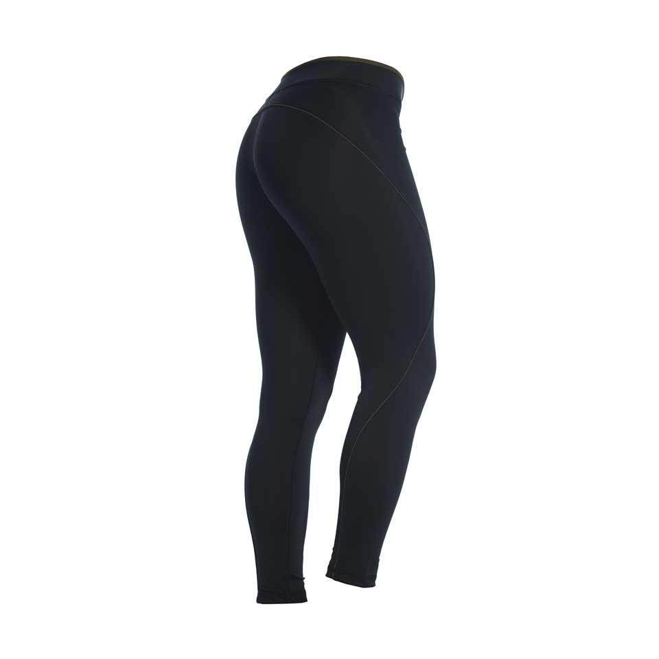 Träningstights – MM Tights Biela, Black/Army Green - XS - Träningskläder