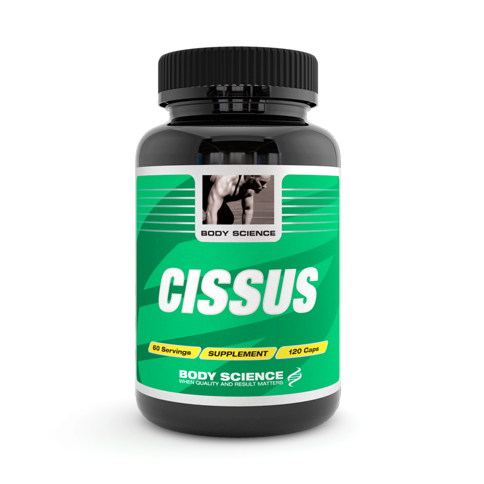 Body Science Cissus, 120 kapslar - Antioxidanter - Body Science