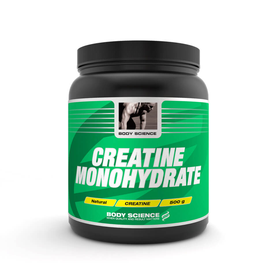 Body Science Creatine Monohydrate 500 gram - Body Science