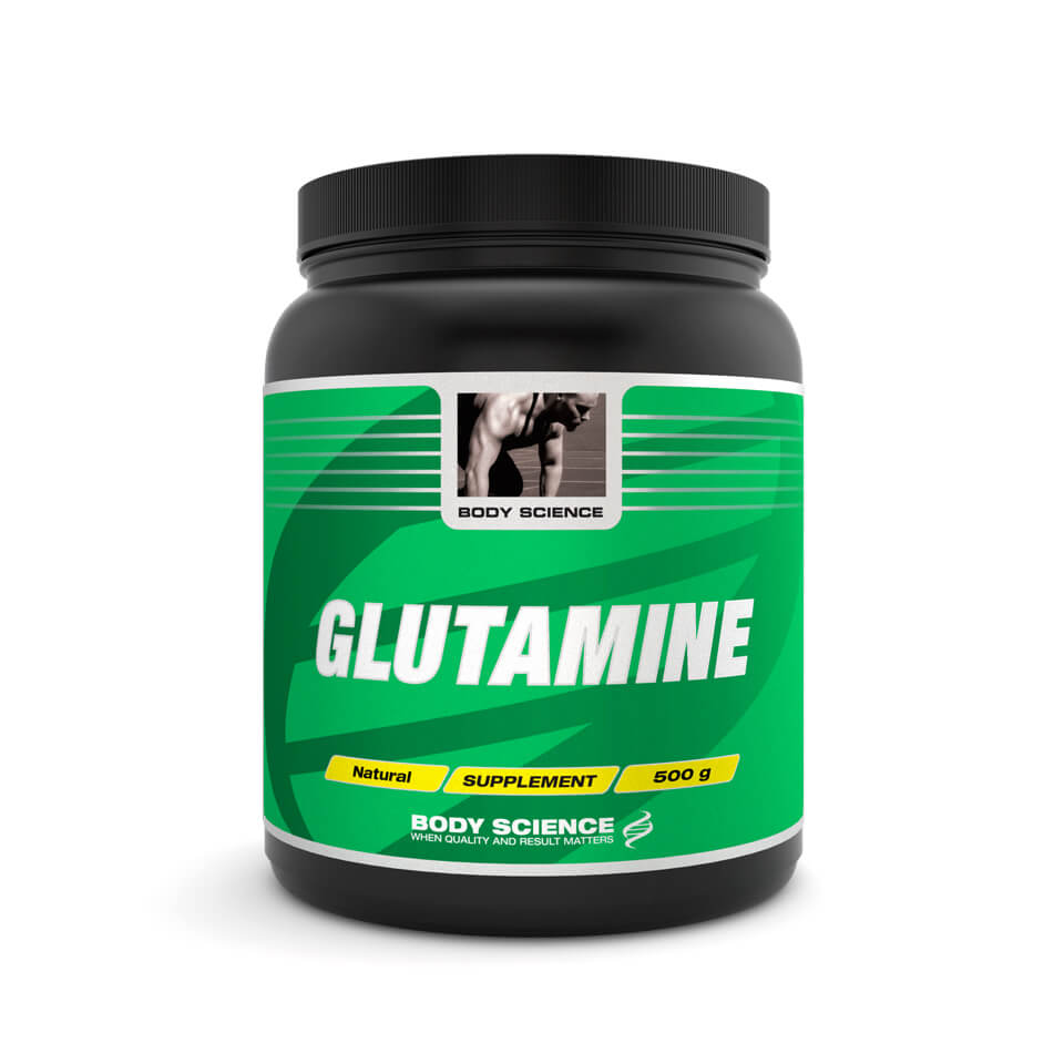 Body Science Glutamine, 500 gram – Aminosyror - Body Science
