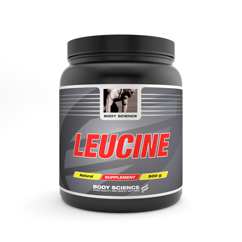 Body Science Leucine, 500 gram – Aminosyror - Body Science