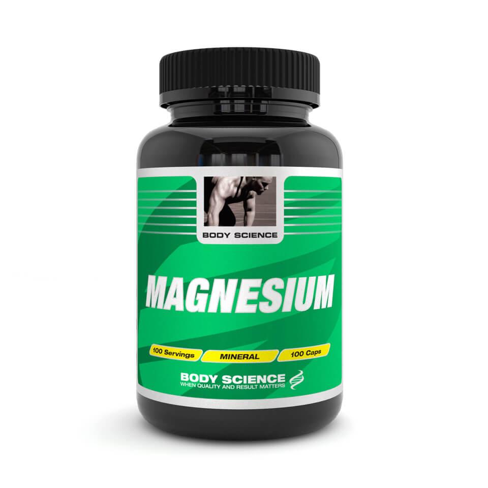 Body Science Magnesium, 100 kapslar – Mineraler - Body Science