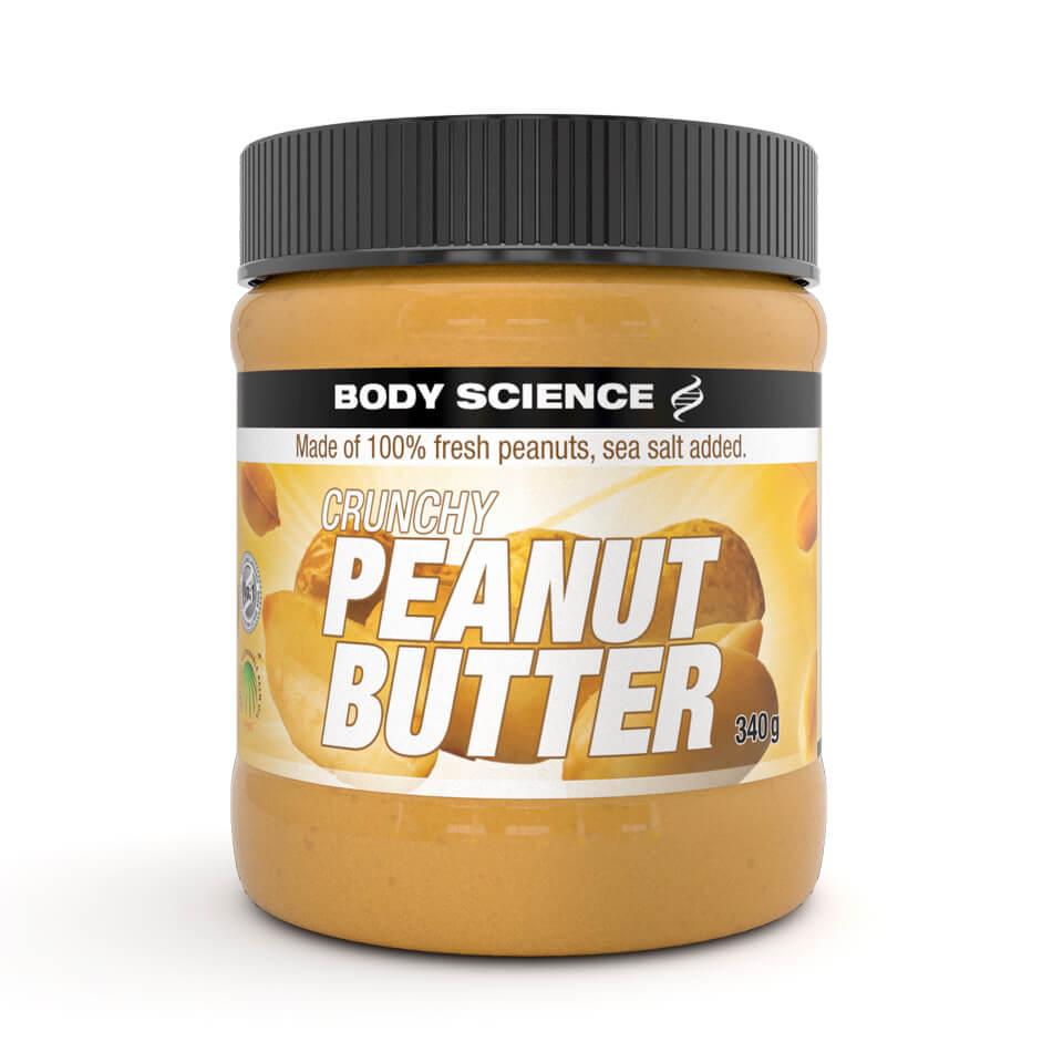 Jordnötssmör – Body Science Peanut Butter, 340 gram - Body Science