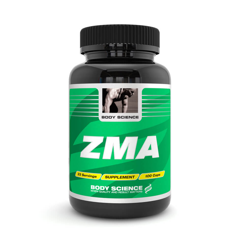 Body Science ZMA, 100 kapslar – Vitaminer och mineraler - Body Science