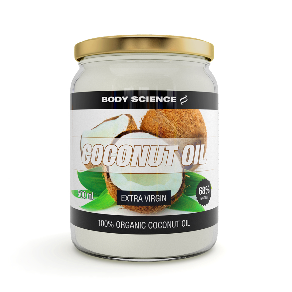 Kokosolja – Coconut Oil Extra Virgin, 500 ml - Body Science