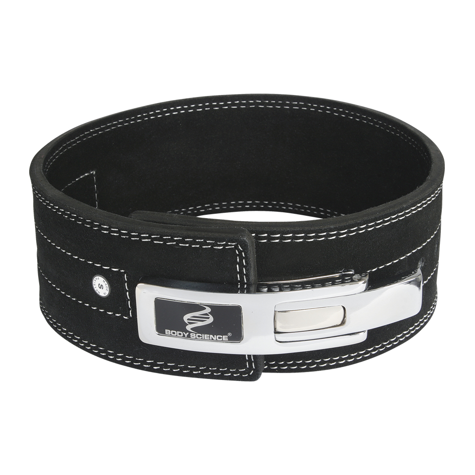 Lyftarbälte – Body Science Weightlifting Lever Belt, Stl. L - Träningstillbehör - Body Science