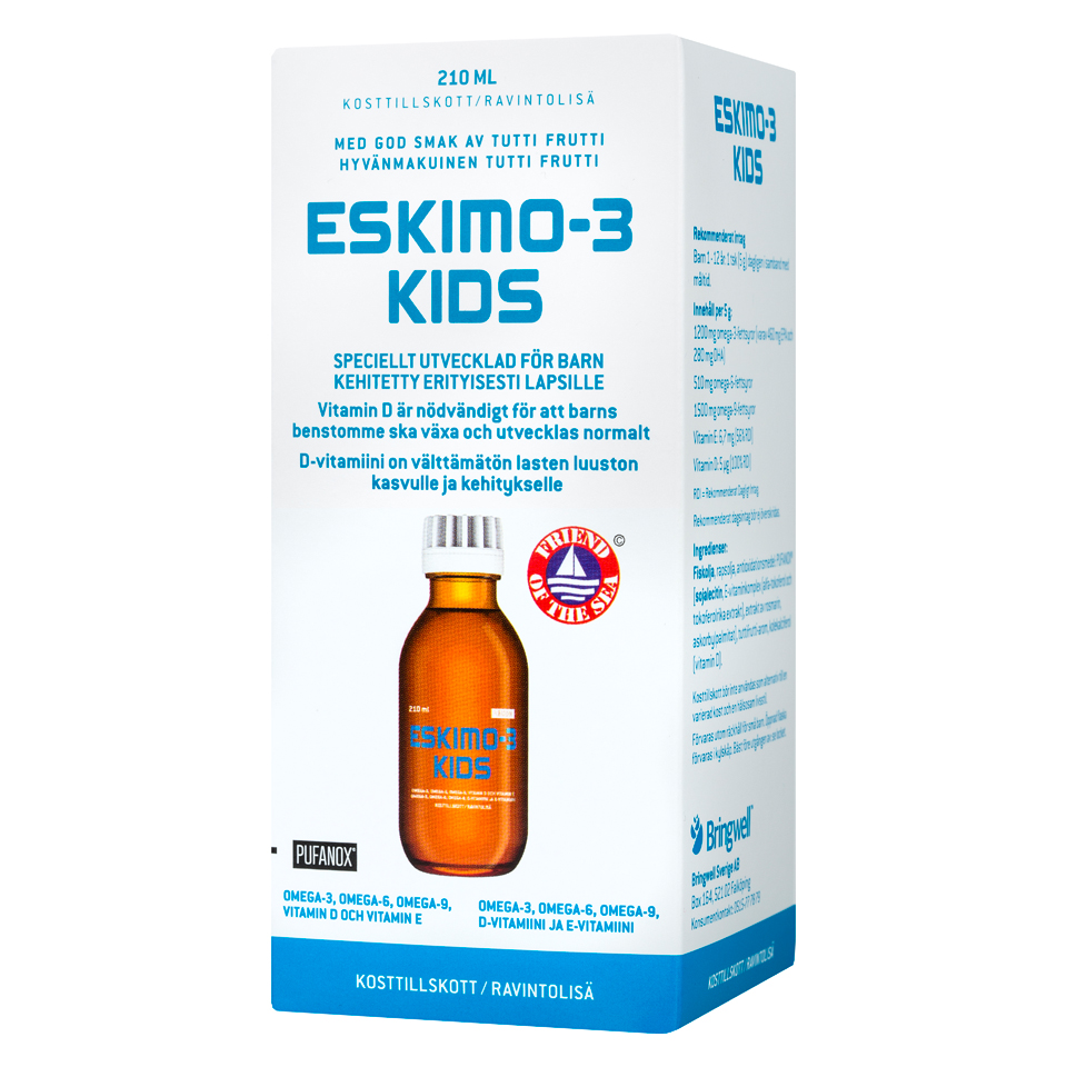 Green Medicine Eskimo-3 Kids 210 ml - Green Medicine