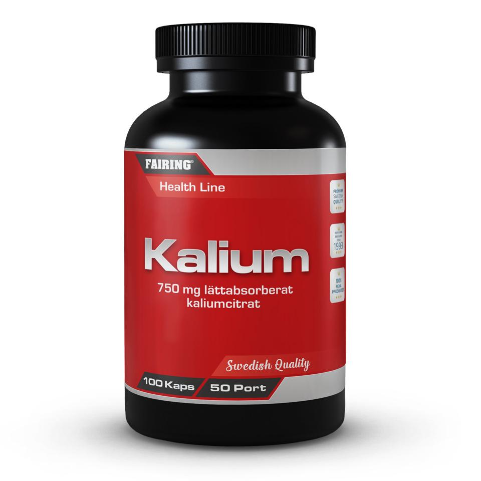 Fairing Kalium 100 kapslar - Fairing
