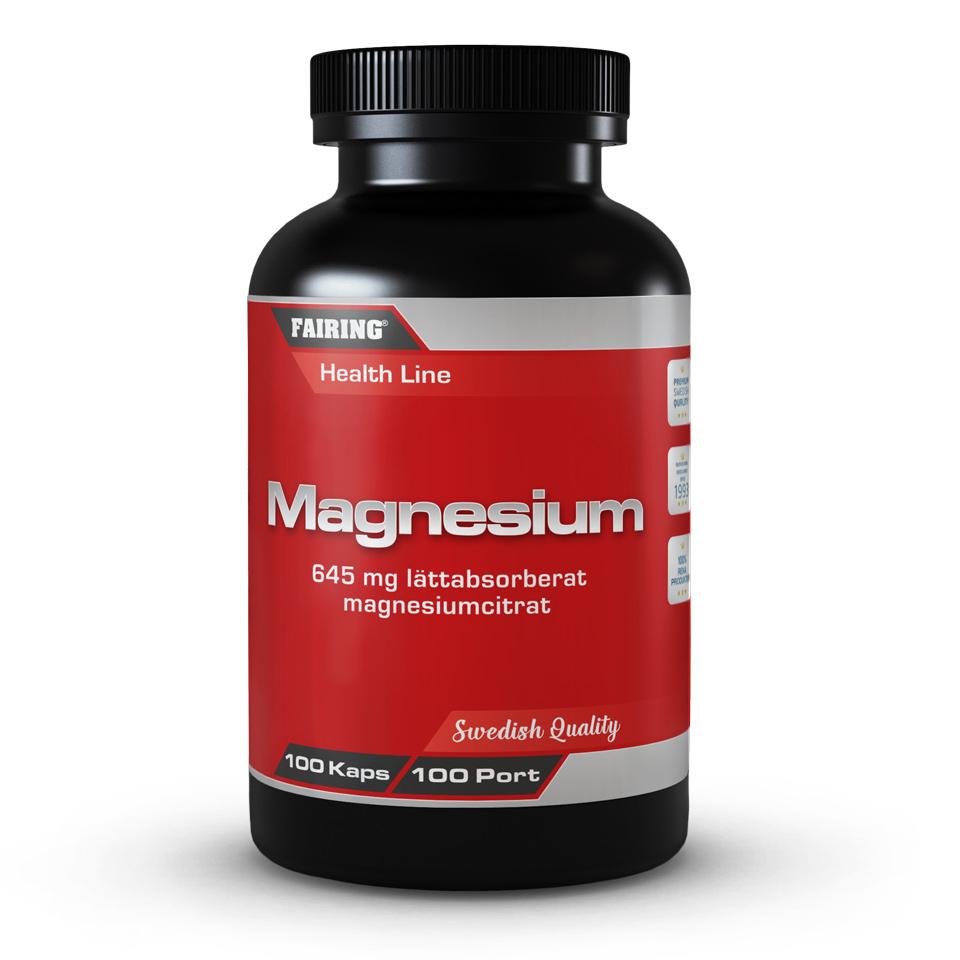 Fairing Magnesium 100 kapslar - Fairing