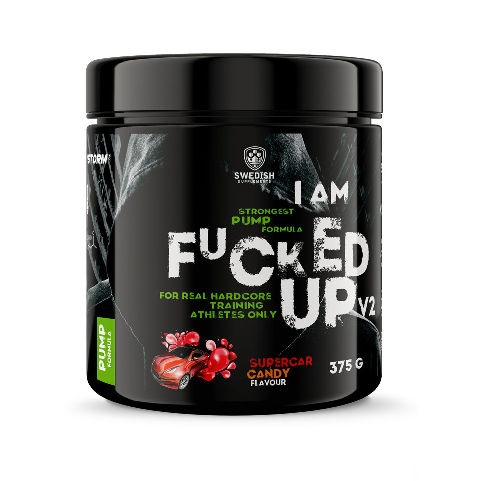 Swedish Supplements Fucked Up Pump V2 375 gram Supercar Candy - Swedish Supplements