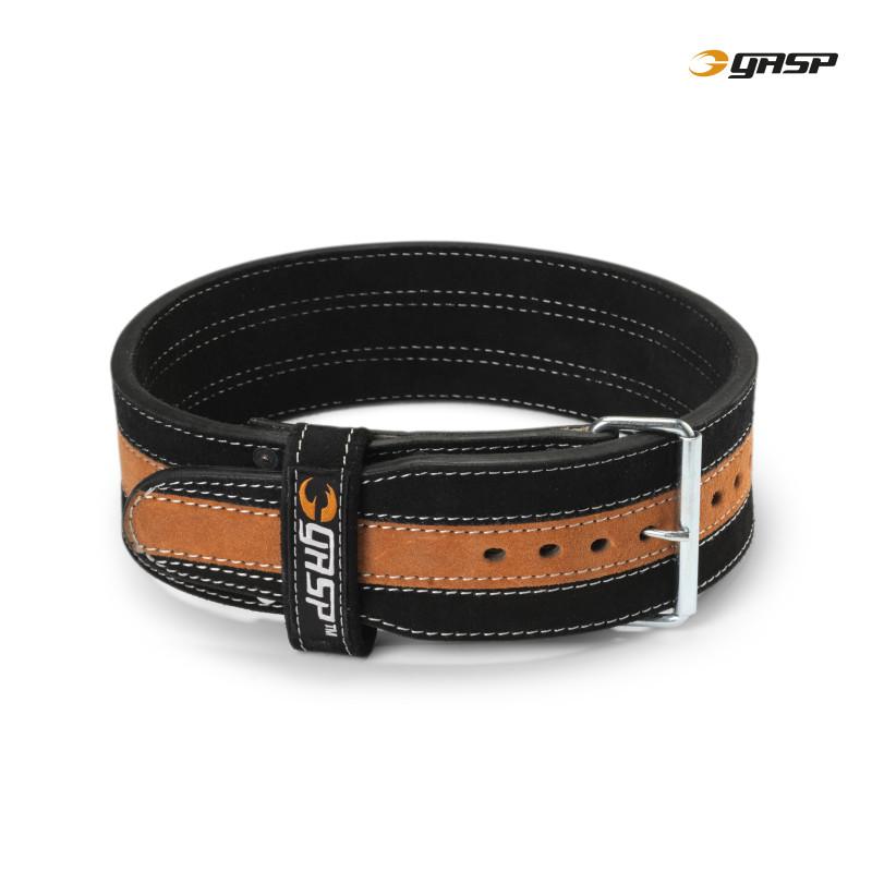 Gasp Power Belt Black/Flame L - Gasp