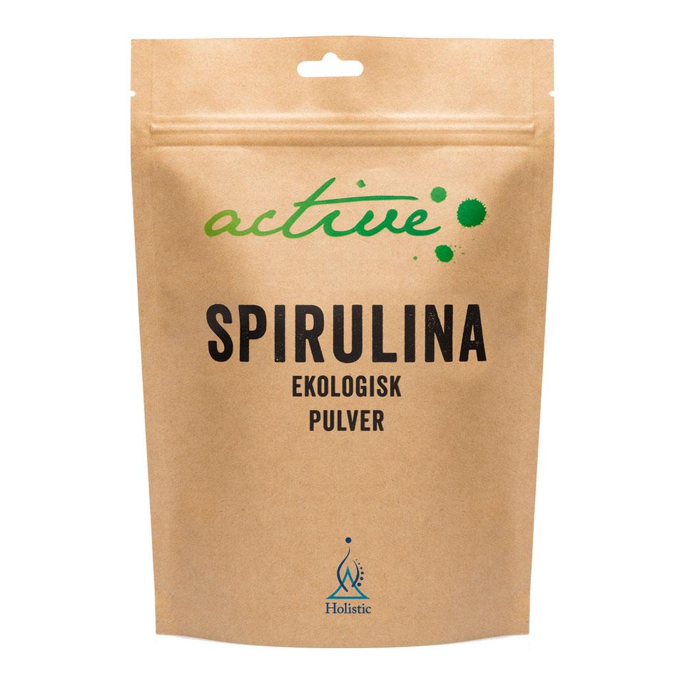 Holistic Spirulinapulver 150 gram - Holistic