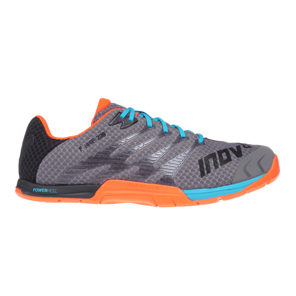 Inov-8 F-lite 235 Herr, Grey/Blue/Orange Grey/Blue/Orange 41,5 - Inov-8