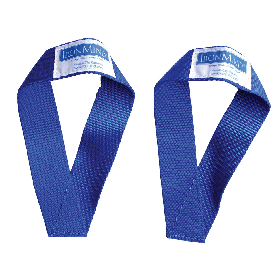 Ironmind Sew Easy Lifting Straps Blue - IRONMIND