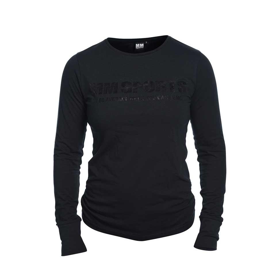 Träningströja – MM Sports L/S Tee Tyra, Black, M - Träningskläder