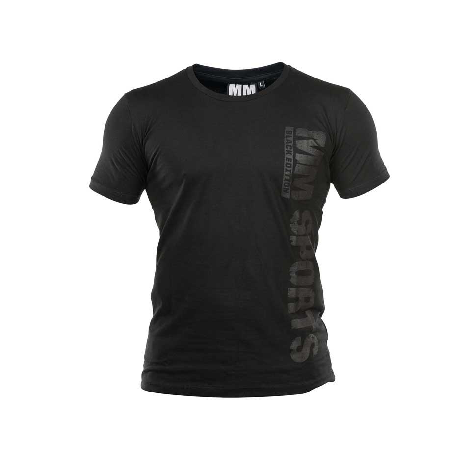 Tränings t-shirt Herr – MM Sports MM Hardcore T-shirt - Black Edition - L - Träningskläder