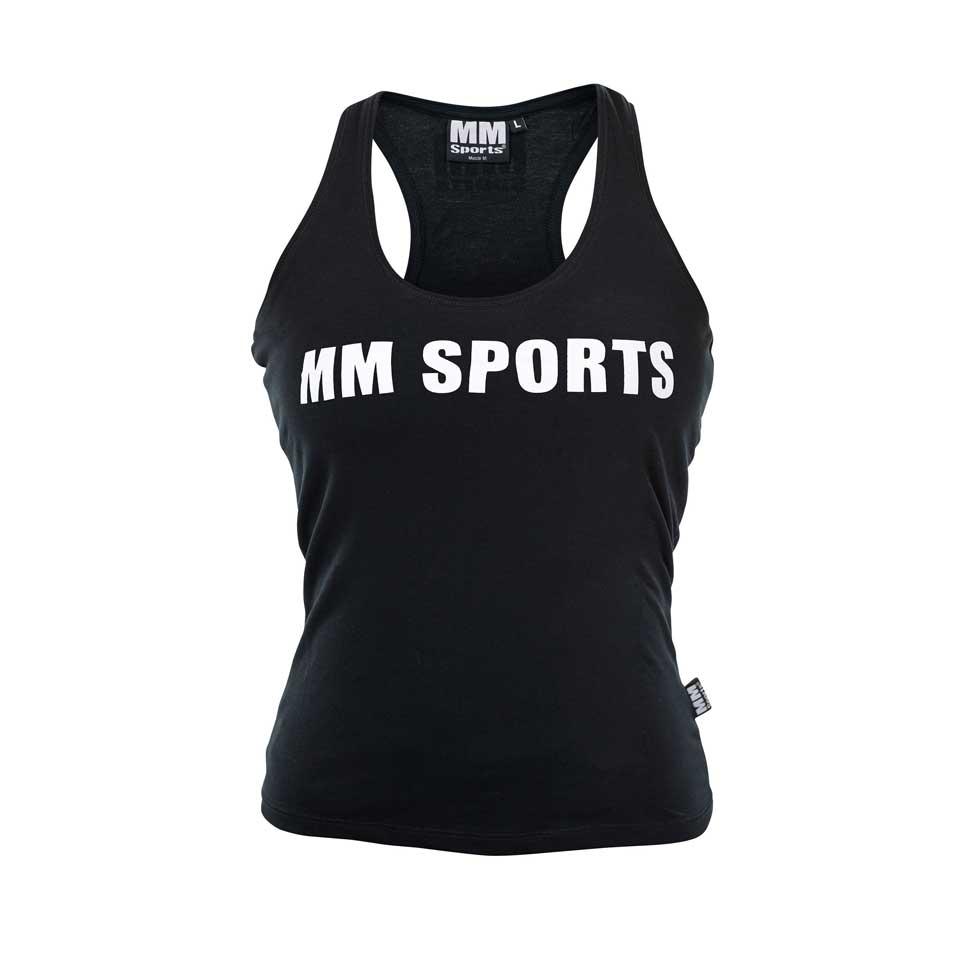 Träningslinne ? MM Sports Tank Wmn – Black, Medium – Träningskläder