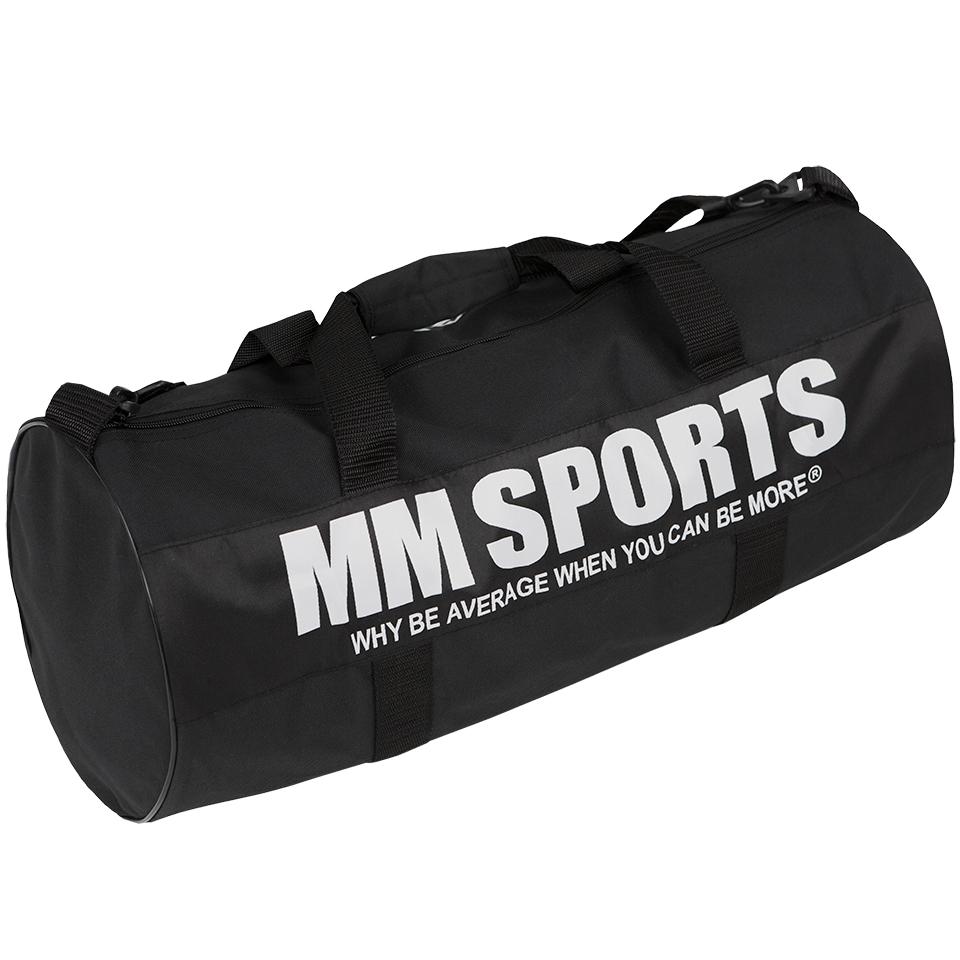 Gymväska – MM Sports Gym Bag, Black - Träningsväska, Träningstillbehör - MM Sports