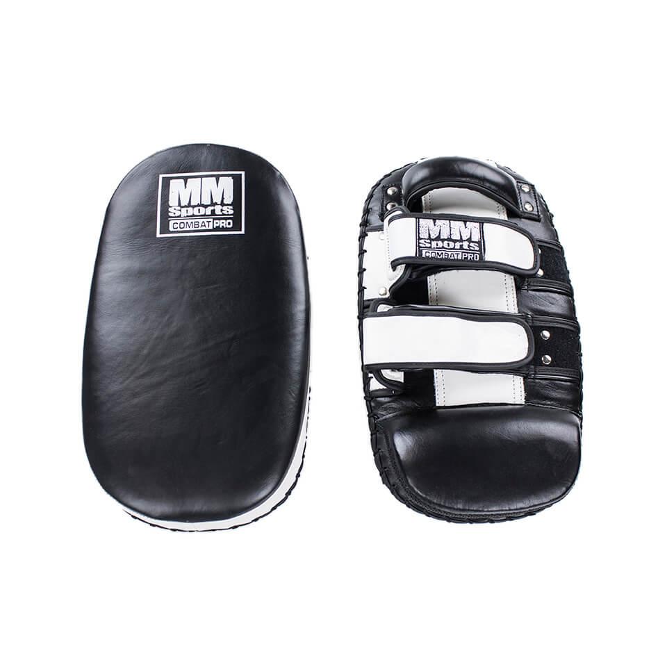 Pads – MM Combat PRO Thai Kick Pad, Black/White - Träningstillbehör - MM Combat