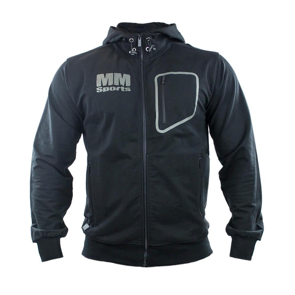 Träningshoodie – MM Sports MM W.B.A. Athletic Hood Men - Black, Medium - Träningskläder