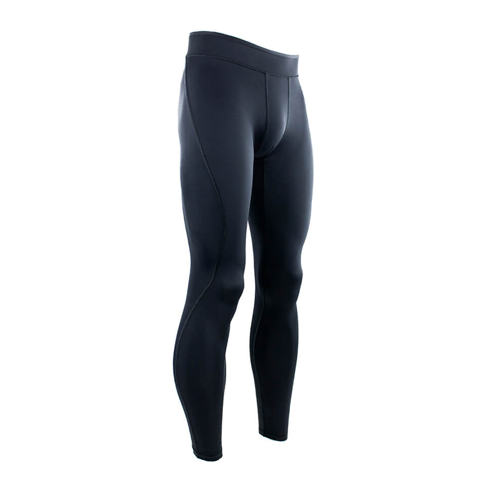 Träningstights – MM Sports Tights Arathon - Plain Black, 3XL - Träningskläder