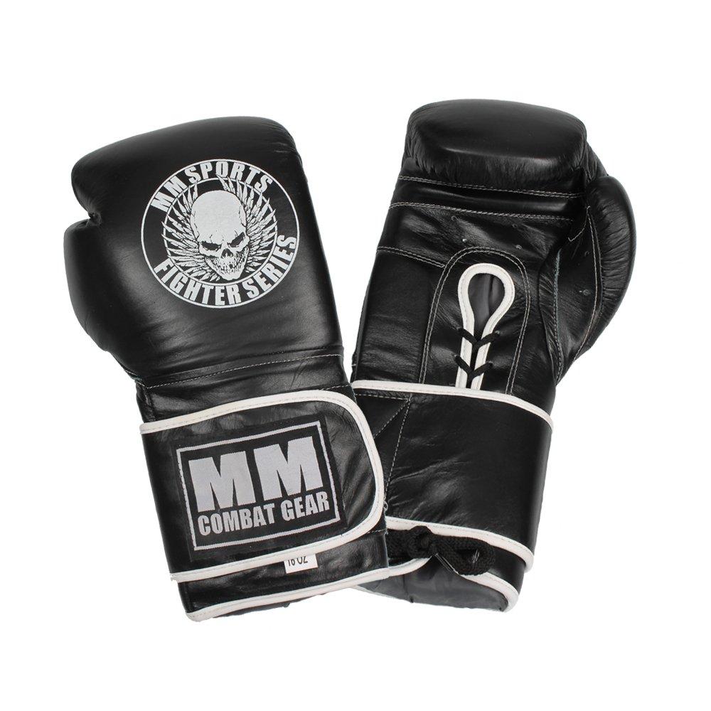 Boxningshandskar – MM Combat Professional Sparring Glove, Svart - MM Combat