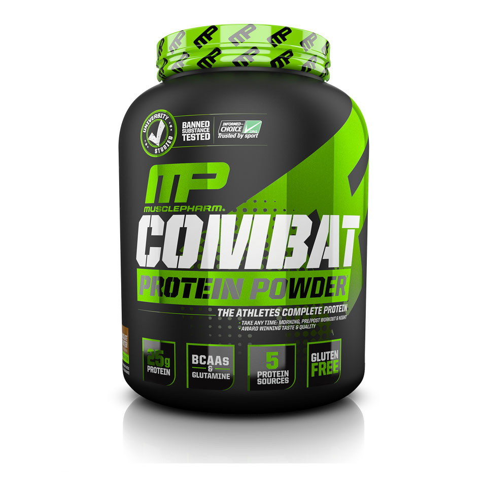 MusclePharm Hybrid Series - Combat Powder Chocolate Milk - MusclePharm