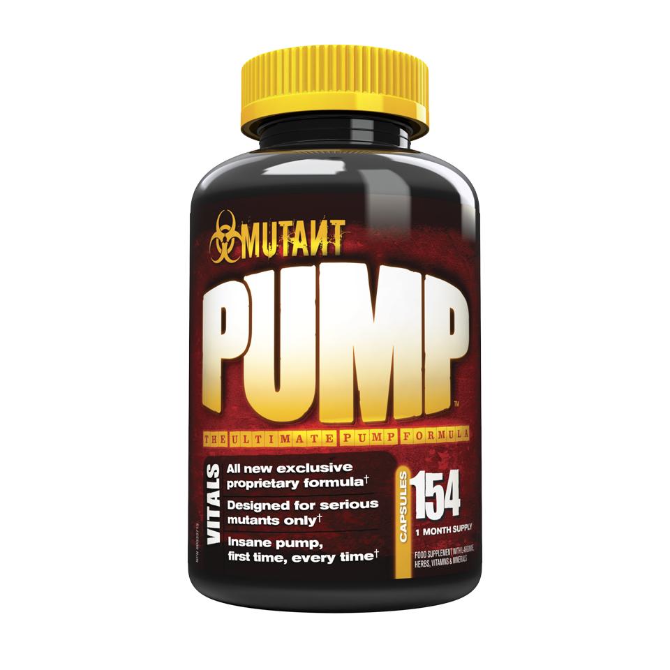 Mutant Pump 154 kapslar - Mutant