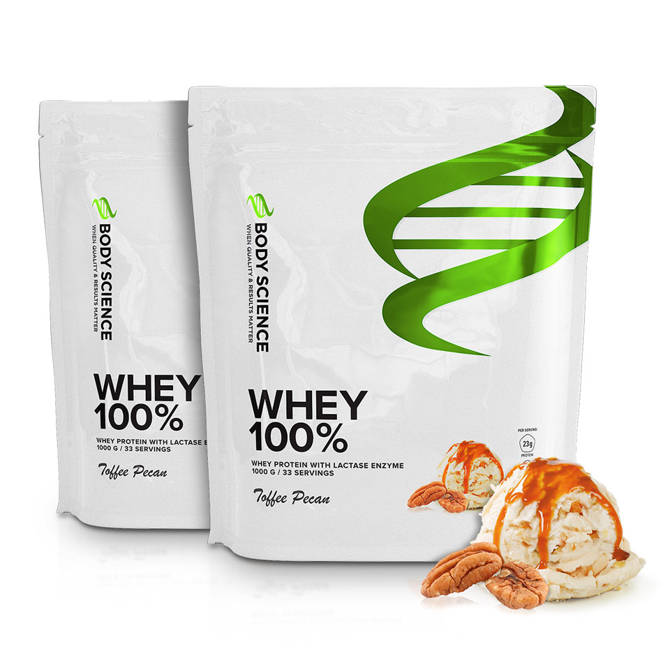2 st Body Science Whey