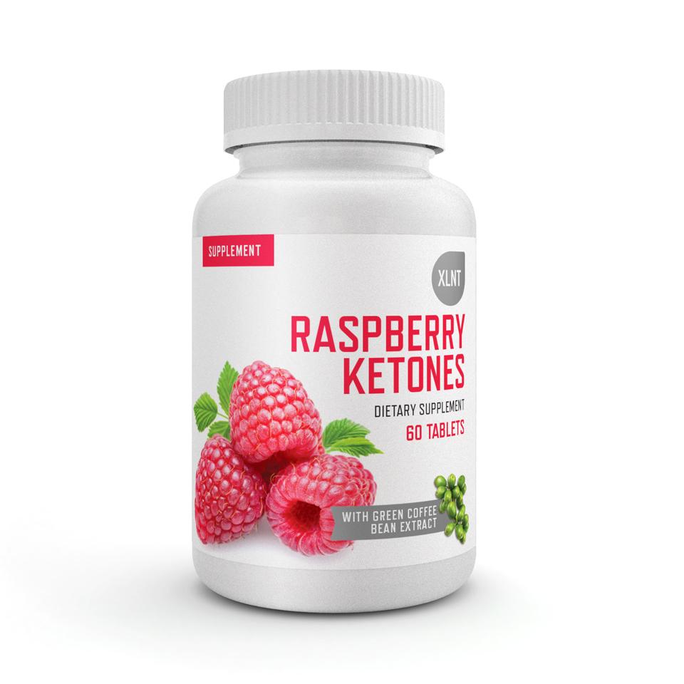 Hallonketoner för fettförbränning – XLNT Raspberry Ketones, 60 tabletter - XLNT Sports