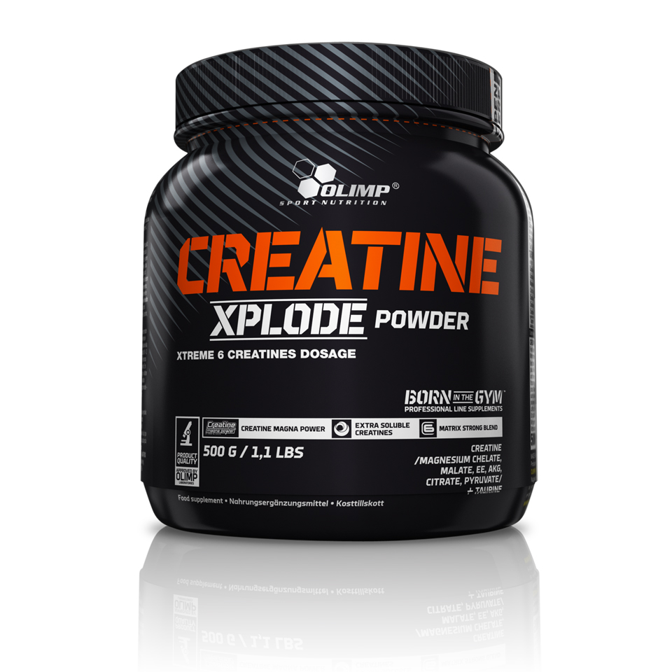 Olimp Creatine Xplode Apelsin - Olimp