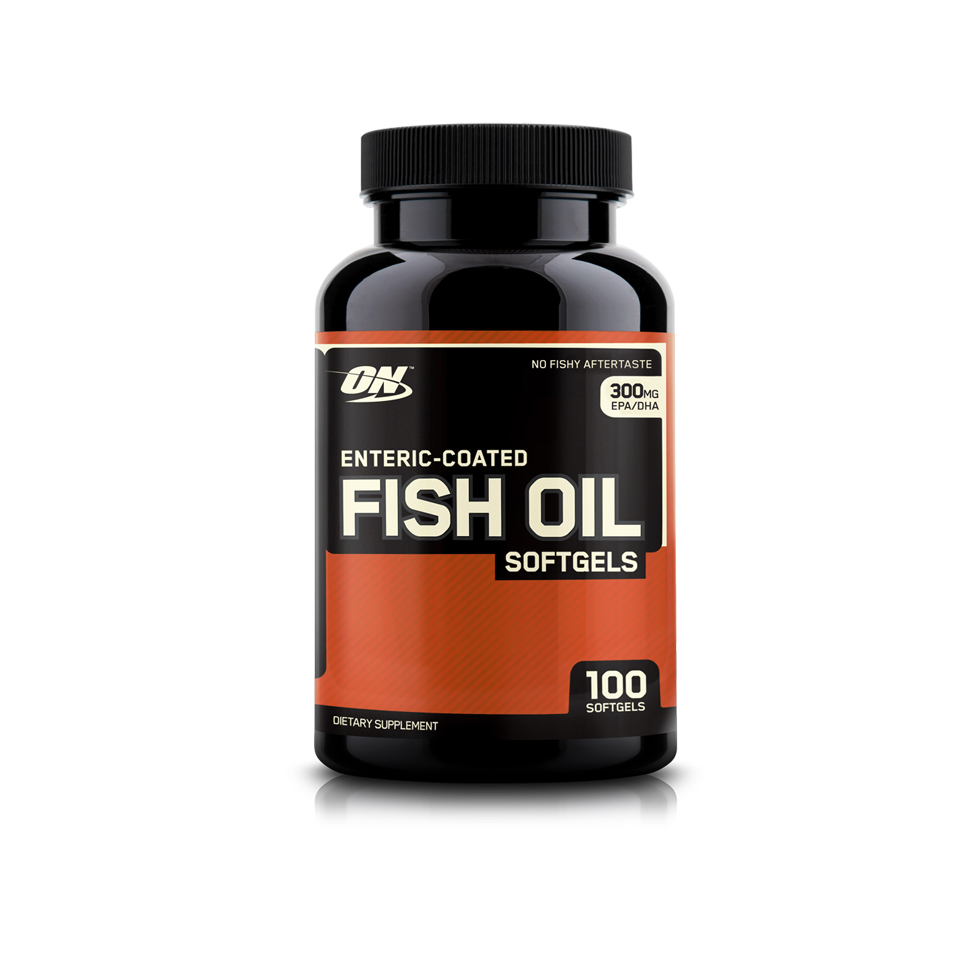 Optimum Nutrition Fish Oil 100 kapslar - Optimum Nutrition