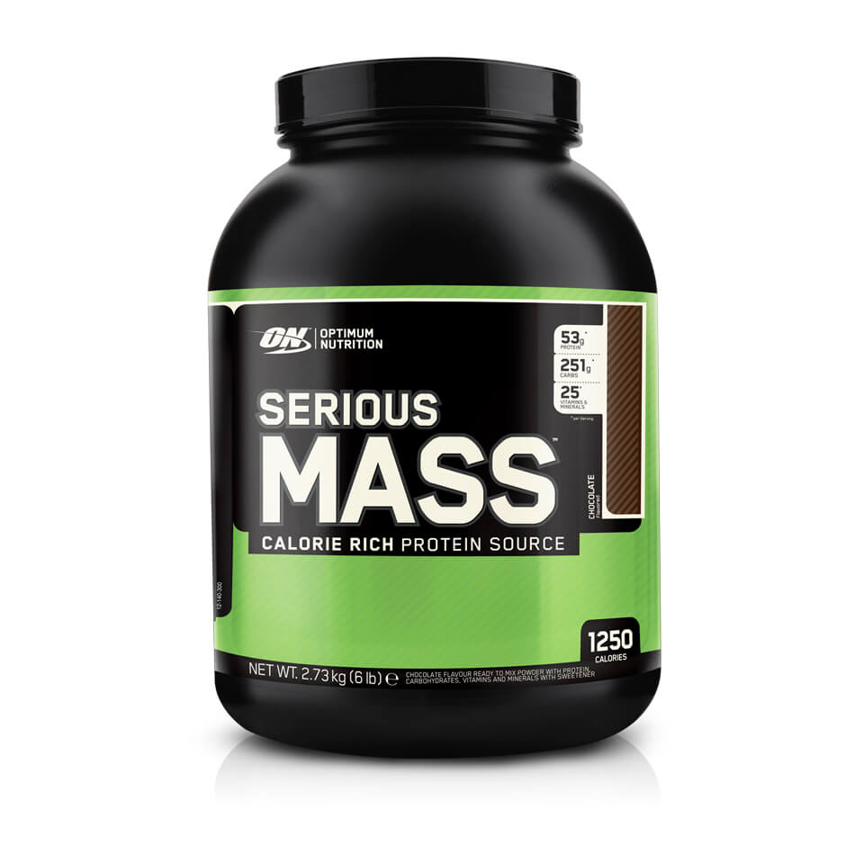 Optimum Nutrition Serious Mass Strawberry 5,45 kg - Optimum Nutrition