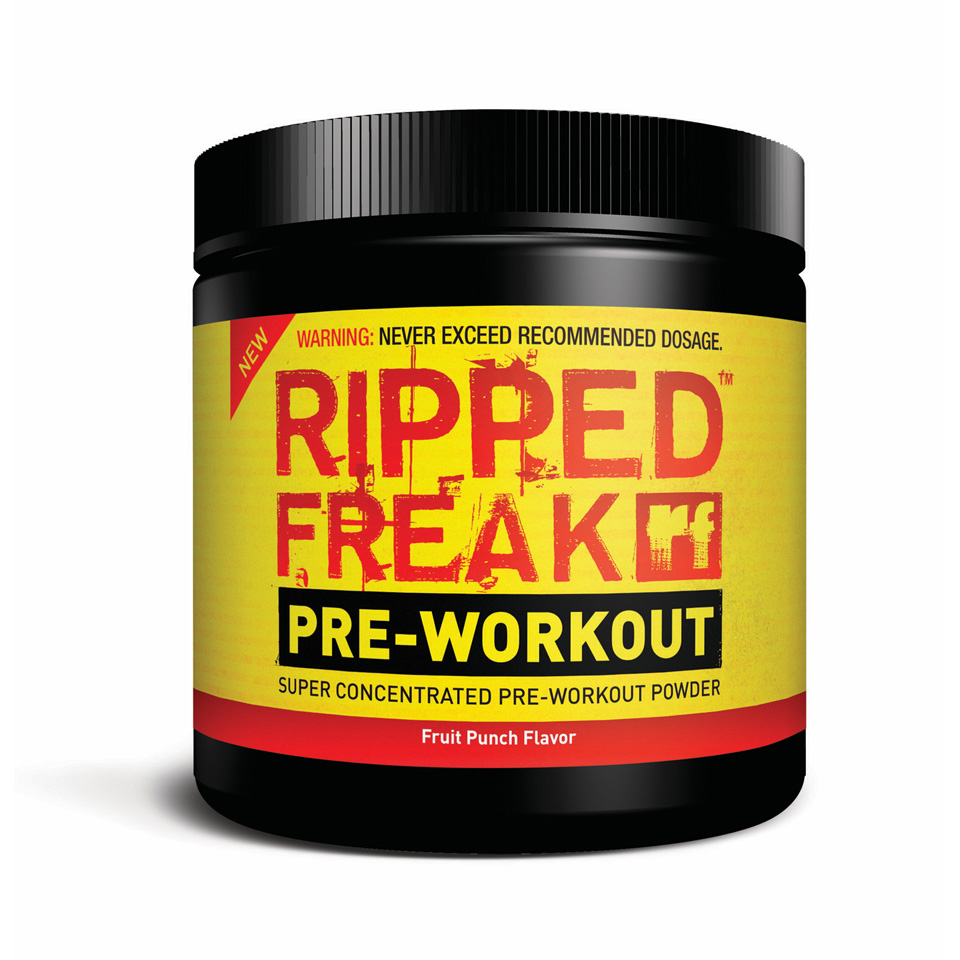 PharmaFreak Ripped Freak Pre-WorkOut Fruit Punch - Pharmafreak