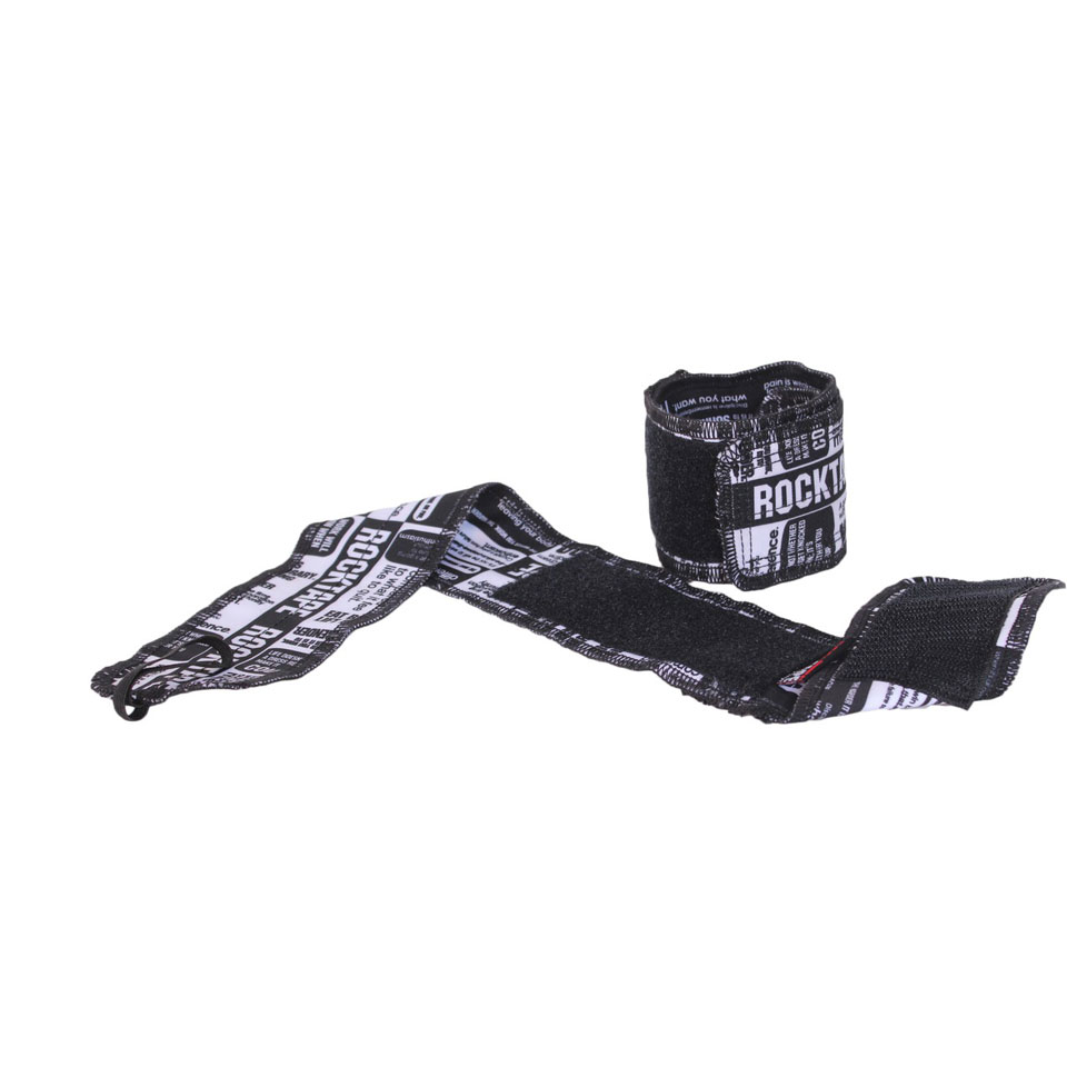 RockTape RockWrists Black - RockTape