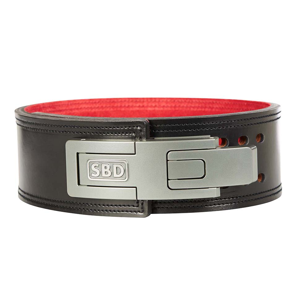 SBD Apparel SBD Belt Black/Red M - SBD Apparel