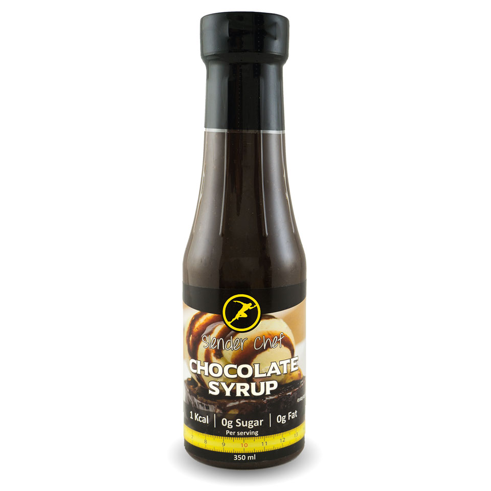 Slender Chef Chocolate Syrup 350 ml - Slender Chef