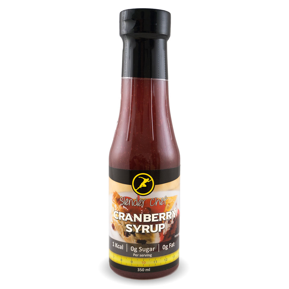 Slender Chef Cranberry Syrup 350 ml - Slender Chef