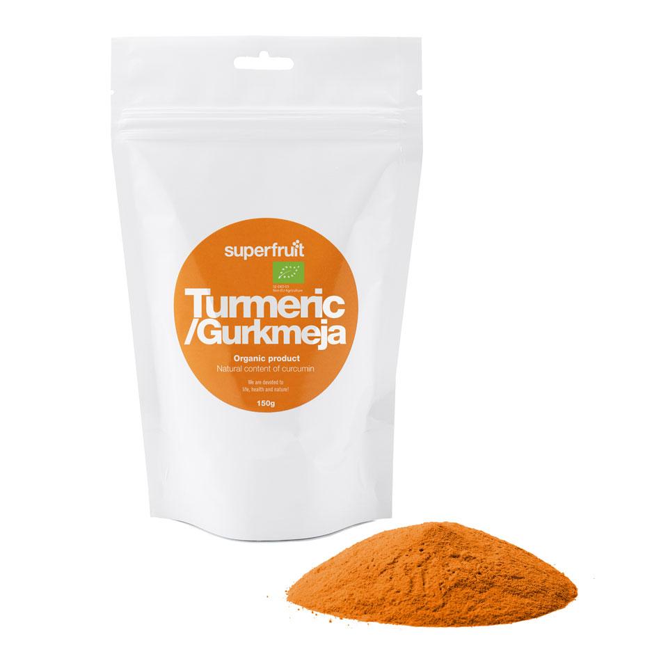 Superfruit Turmeric/Gurkmeja 150 gram - Superfruit