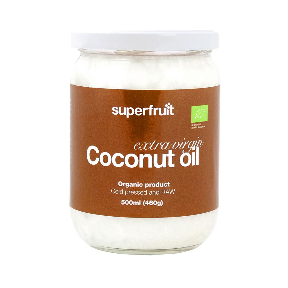Superfruit Organic Coconut Oil Extra Virgin 450 ml - Superfruit