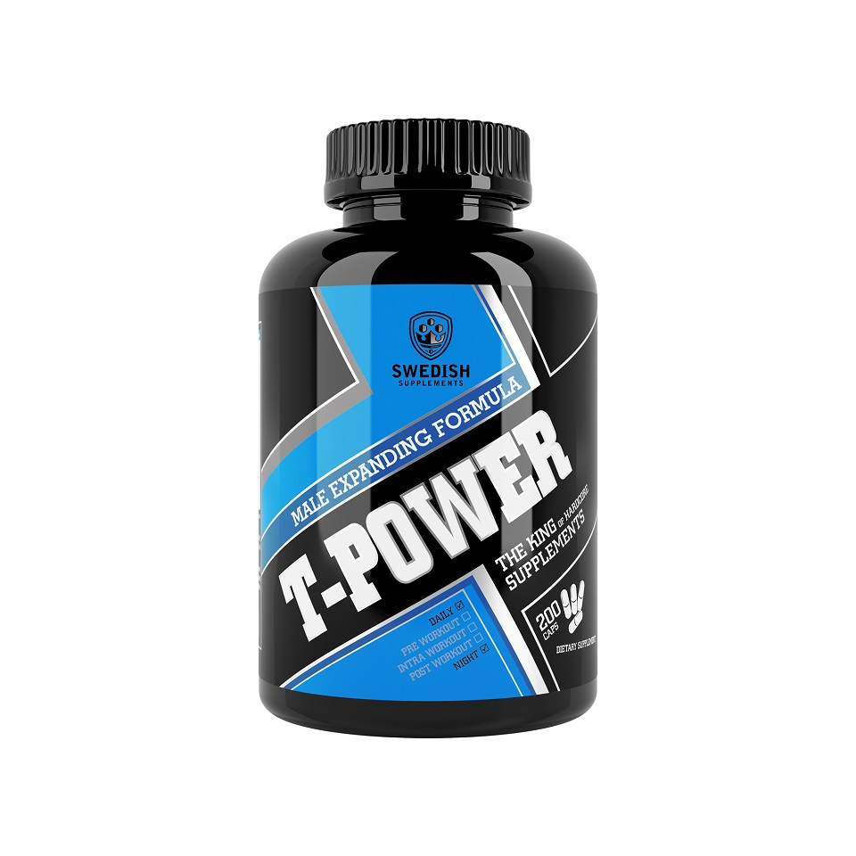 Swedish Supplements T-Power 200 kapslar - Swedish Supplements