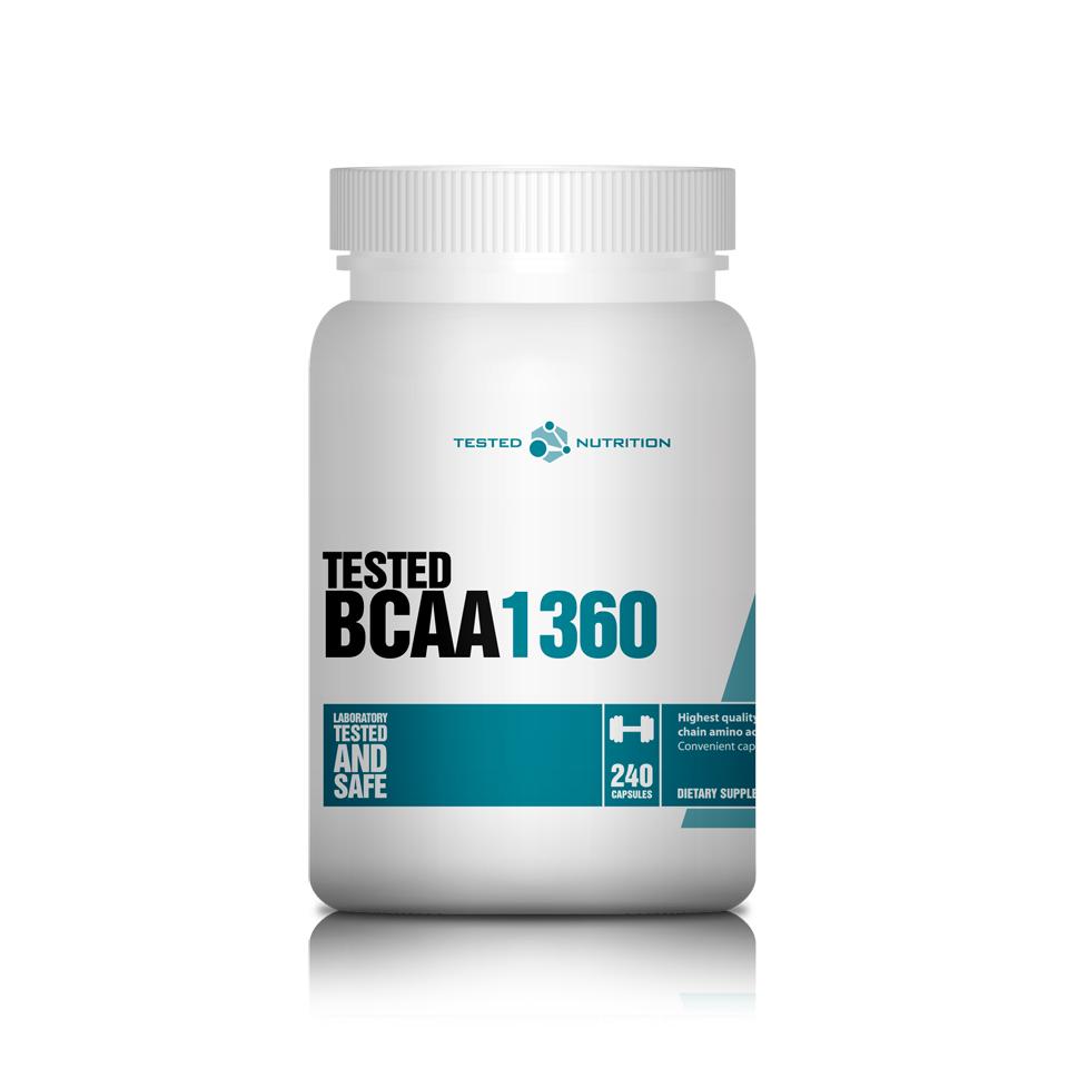 Tested BCAA 1360 240 kapslar - Tested