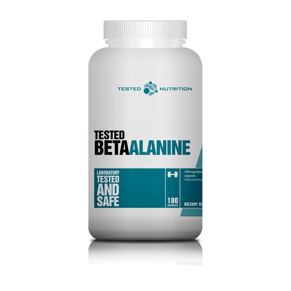 Tested Beta Alanine 180 kapslar - Tested