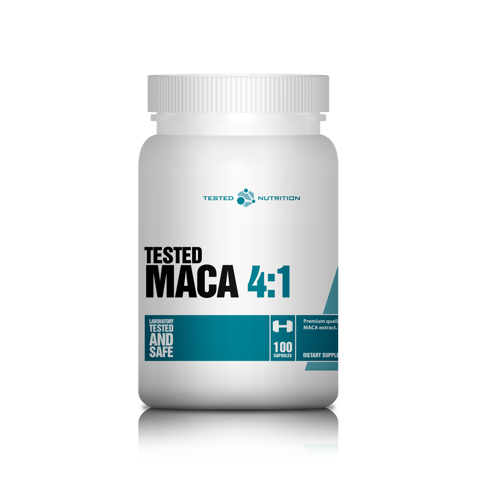 Tested Maca 4:1 100 kapslar - Tested