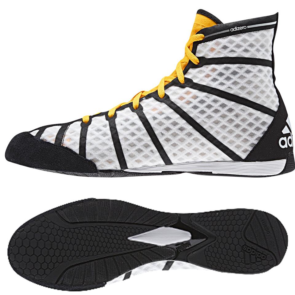 Adidas Adizero Boxing Vit/Orange/Svart 38 2/3 - Adidas