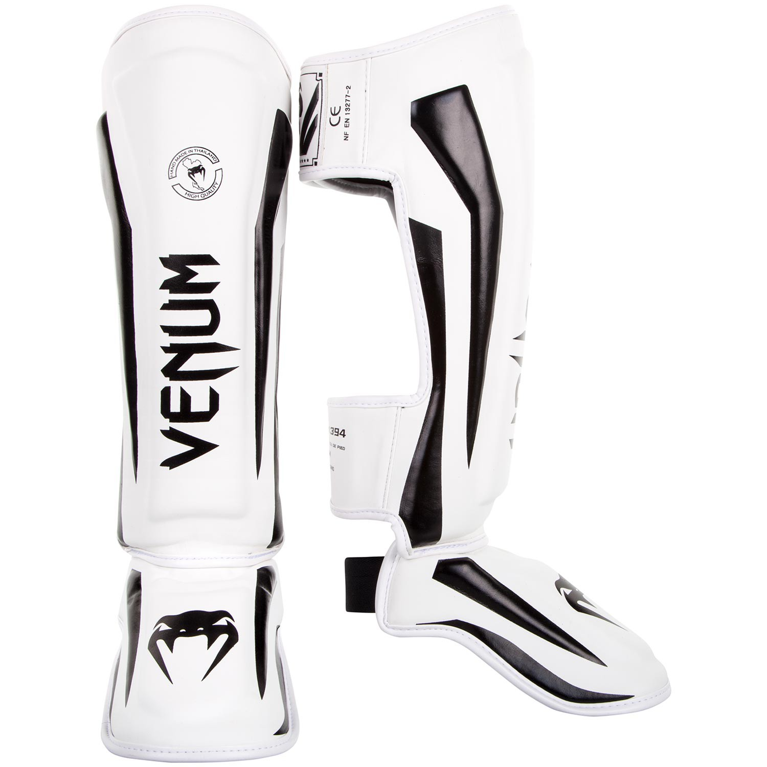 Venum Elite Standup Shinguards White/Black M - Venum