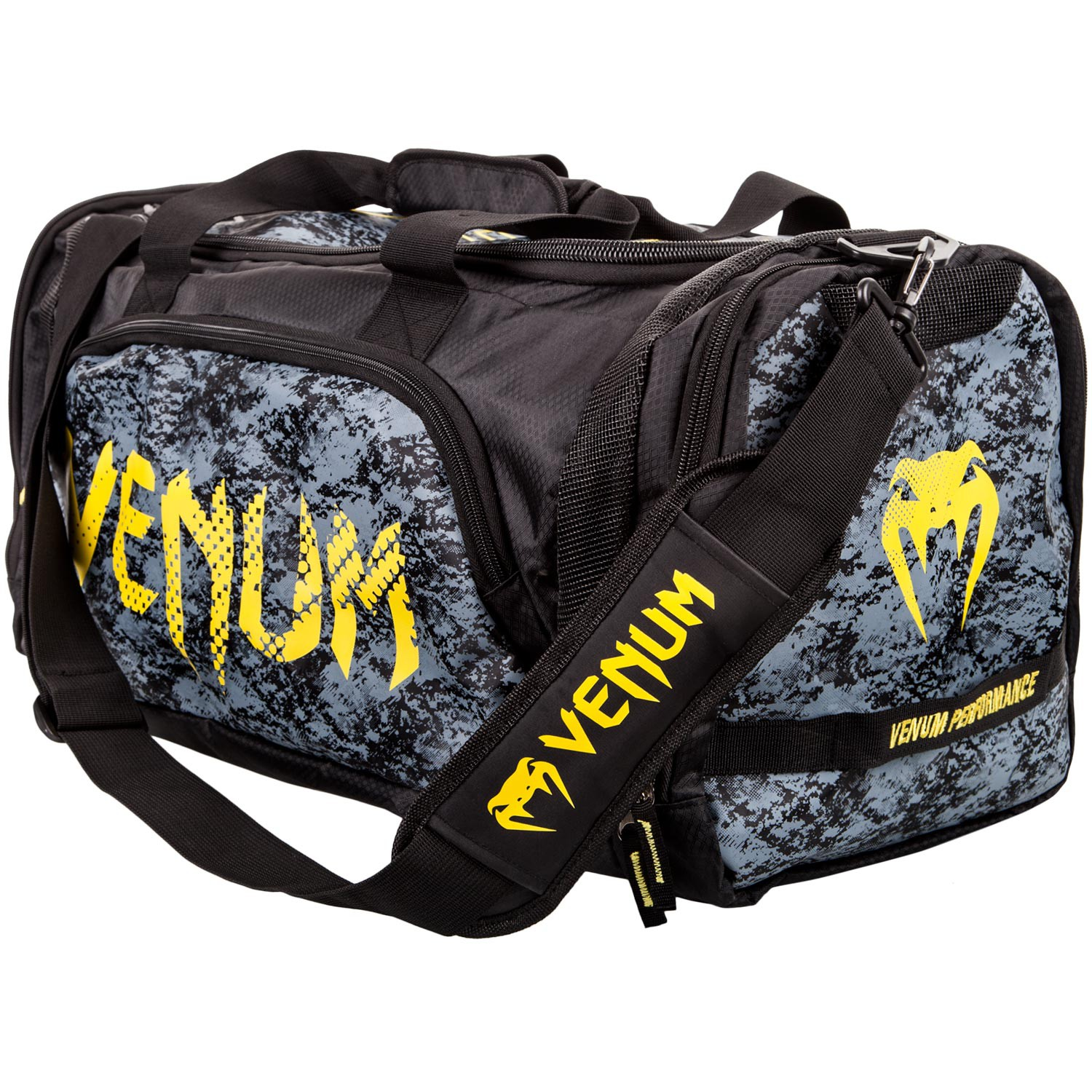 Venum Tramo Sport Bag Black/Yellow - Venum