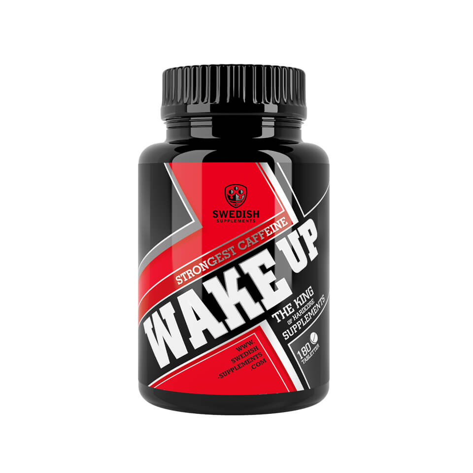 Swedish Supplements Wake Up 180 tabletter - Swedish Supplements